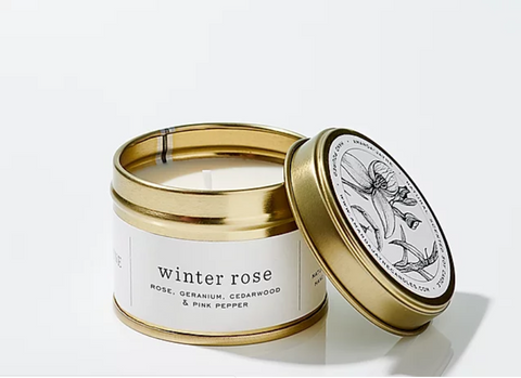 Candle - Winter Rose, 100ml