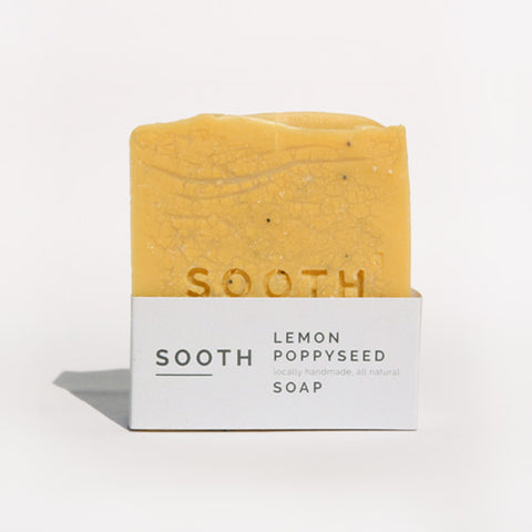 Lemon Poppyseed Soap, 120g