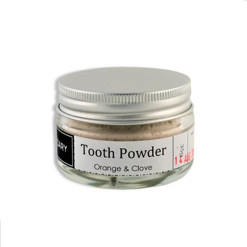 Tooth Powder - Orange & Clove, 50ml