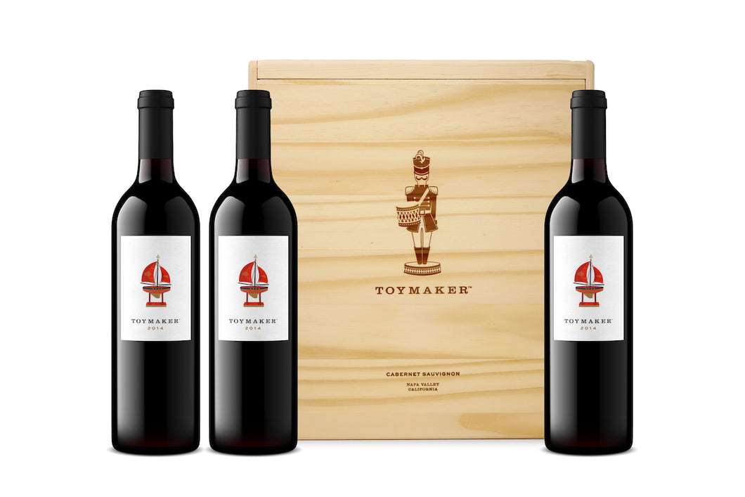 2014 ToyMaker (3-Bottles) + Virtual Tasting w/ Martha McClellan