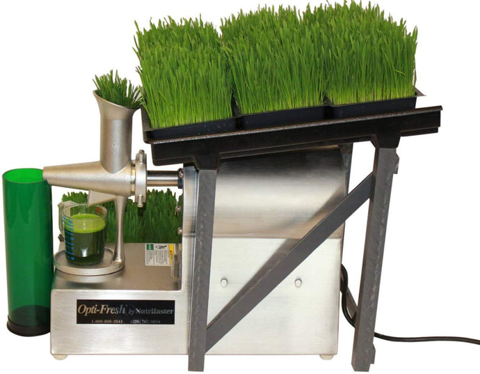 Opti-Fresh Wheatgrass Juicer