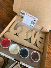 Load image into Gallery viewer, 12' Love with bat Kids DIY At home Kit