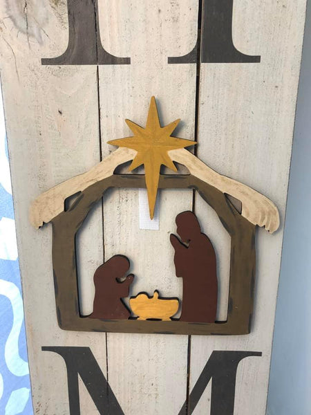 Interchangeable Ornament - Nativity
