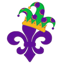 Load image into Gallery viewer, Fleur-de-lis With Crown Blank - Unfinished