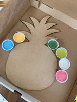 Colorful Pineapple DIY Take & Make Kit