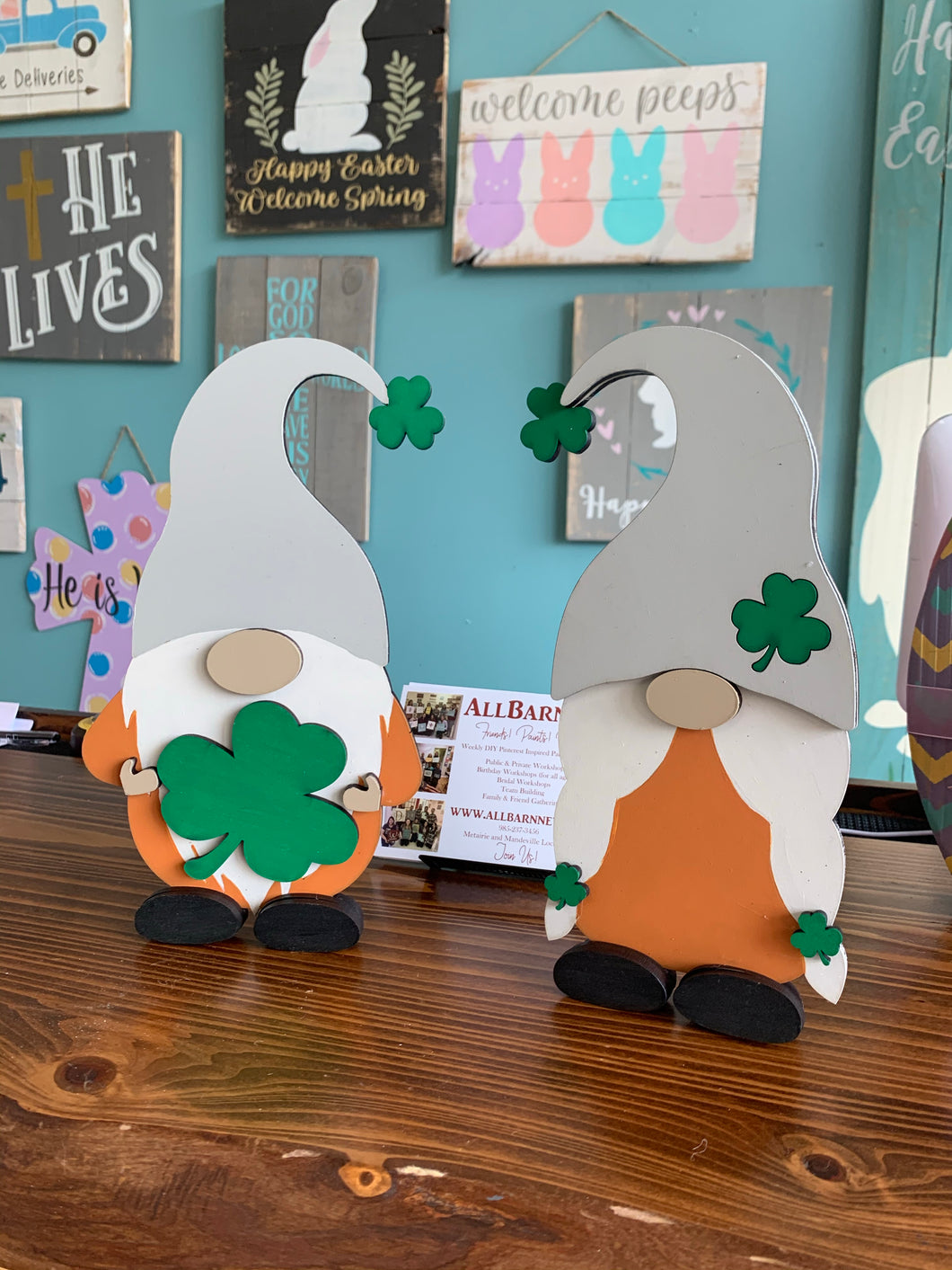 St. Patrick's Day Gnome Set