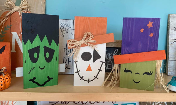 Halloween / Fall Shelf Characters DIY Kit