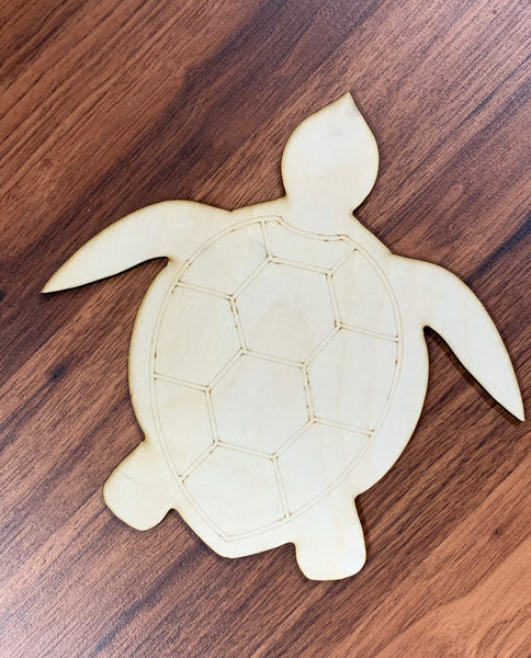 Sea turtle Blank - Unfinished