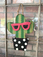Load image into Gallery viewer, Cactus with 3-D sunglasses  DIY Take & Make Kit