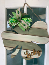 Load image into Gallery viewer, Shiplap Lucky Shamrock Take & Make at Home kit