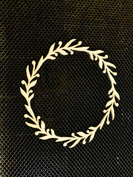 Wood wreath Blank - Unfinished