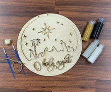 Load image into Gallery viewer, Oh Holy Night Sign or Door Hanger