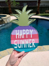 Load image into Gallery viewer, Happy Summer Pineapple DIY Take & Make Kit
