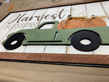 Load image into Gallery viewer, Harvest Blessing Sign w/3D truck DIY take & make kit