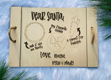 Load image into Gallery viewer, Farmhouse Personalized Engraved Santa's Tray