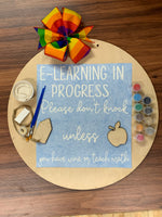 E-Learning in progress DIY Take & Make Kit