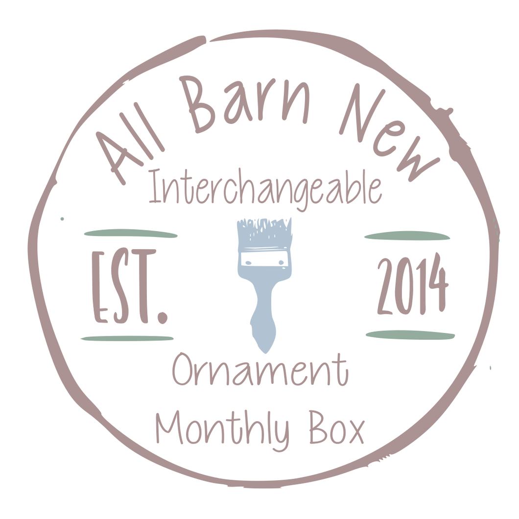 Interchangeable Ornament Monthly Maker DIY Box