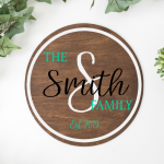 "The ""Smith"" Family with Initial Round"