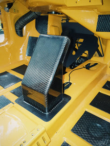 Large Carbon Fiber Center Console R5 Motorsport Style