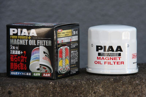 PIAA Z6-M TWIN POWER PLUS MAGNET OIL FILTER