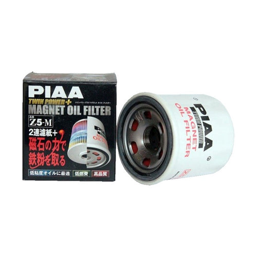 PIAA Z5-M TWIN POWER PLUS MAGNET OIL FILTER
