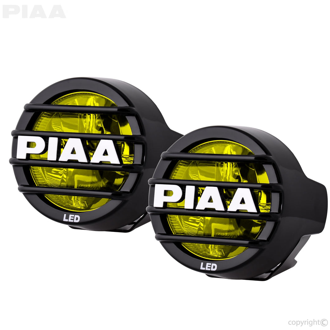 PIAA LP530 LED Yellow Driving Beam Kit 3.5 inch/89mm