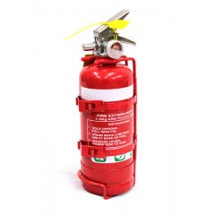 1kg Dry Powder ABE Extinguisher with Twin Strap Bracket