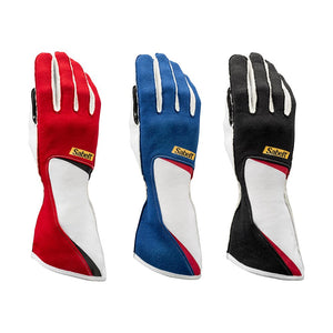 Sabelt racing gloves Black Blue Red