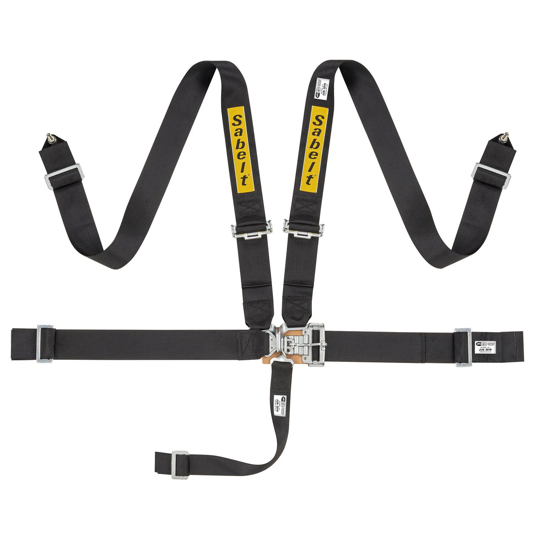 Sabelt Latch And Link 5 Point Harness