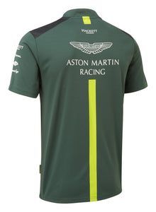 AMR Team Polo Shirt - Sterling Green