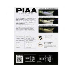 Piaa LED bulbs