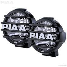 Load image into Gallery viewer, PIAA LP570 LED White Long Range Driving Beam Kit  7 3/16 /192.3mm