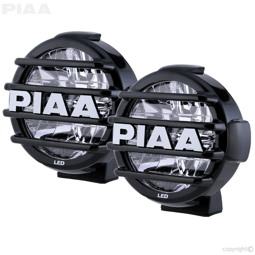 PIAA LP570 LED White Long Range Driving Beam Kit  7 3/16 /192.3mm