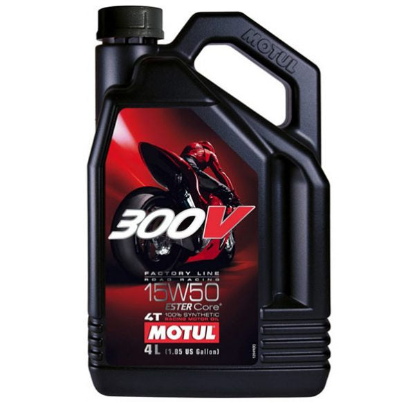 Motul 300V Factory Line ROAD RACING 15W50 4ltr