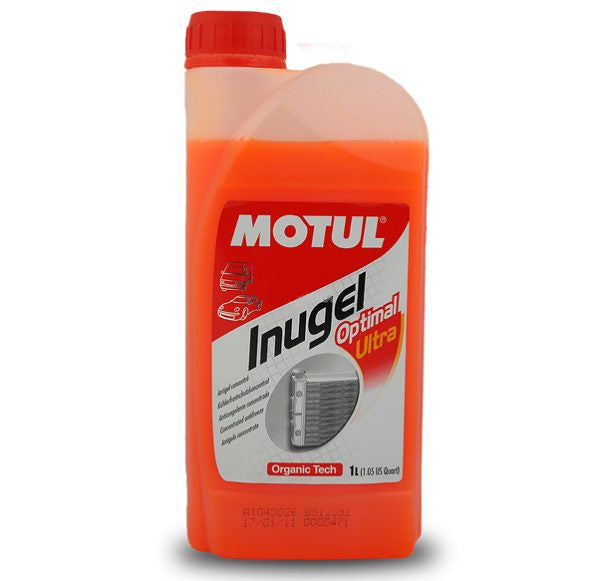 Motul INUGEL OPTIMAL ULTRA Antifreeze 1ltr or 5ltr