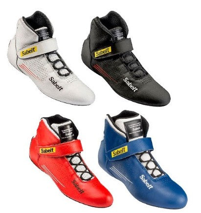 Sabelt - FIA SHOES HERO TB-9 White Black Red Blue