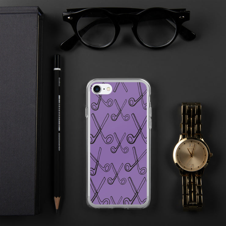 Skizzers Purple iPhone Case
