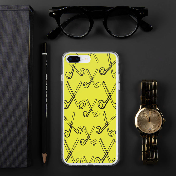 Skizzers Yellow iPhone Case