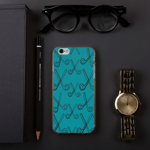 Skizzers Teal iPhone Case