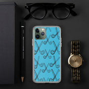 Skizzers Blue iPhone Case