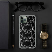 Skizzer Black iPhone Case