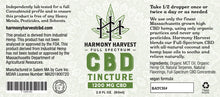 Load image into Gallery viewer, cbd tincture (1200mg)