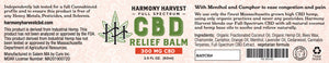 300mg Full-Spectrum CBD Relief Balm