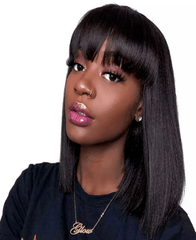 Brazilian Bang Bob Wig - Exclusive Hair