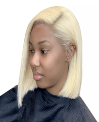 Brazilian Blonde Lace Front Bob - Exclusive Hair