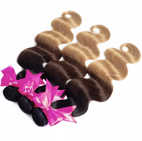 Mixed Ombre Brazilian Bundles - Exclusive Hair