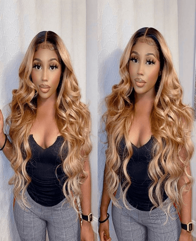 Brazilian Ombre 4*4 Lace Closure Wig - Exclusive Hair