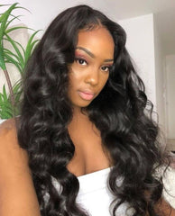 Brazilian Body Wave Bundles with Free Part Closure - Exclusive Hair
