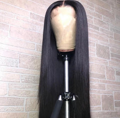 Brazilian Straight Lace Front Wig with Baby Hair 13*4 - Exclusive Hair