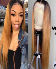 Brazilian Straight 4*4 Lace Closure Wig - Exclusive Hair